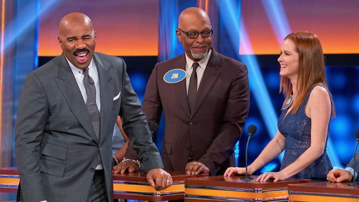Celebrity Family Feud (2015) S04E06 Grey's Anatomy vs. Station 19 and Aly & AJ vs. Adrienne Houghton