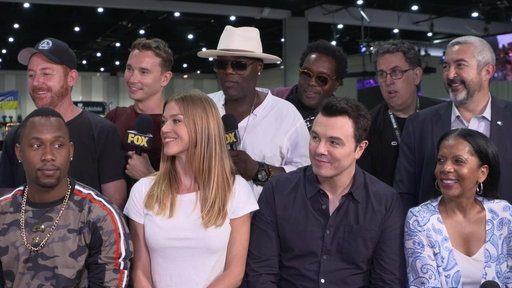 S1E0 The Cast Of THE ORVILLE At Comic-Con 2018
