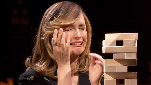 S5E171 Rose Byrne Takes on the Eye-to-Eye Jenga Challenge