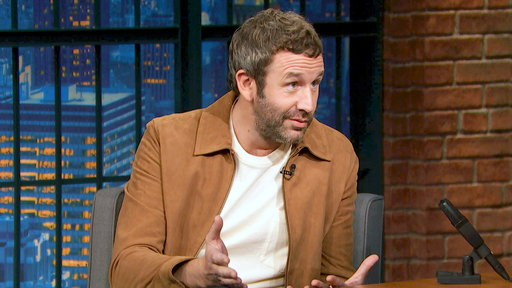 Late Night with Seth Meyers S05E142 Chris O'Dowd, Regina Hall, Grandson