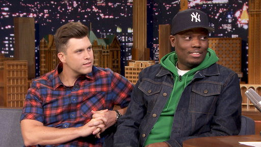 The Tonight Show Starring Jimmy Fallon S05E175 Michael Che & Colin Jost, Henry Golding, Justin Thomas, Dusty Slay