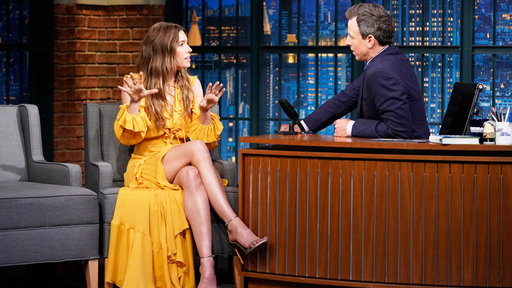 Late Night with Seth Meyers S05E143 Jessica Biel, Awkwafina, Matt Groening