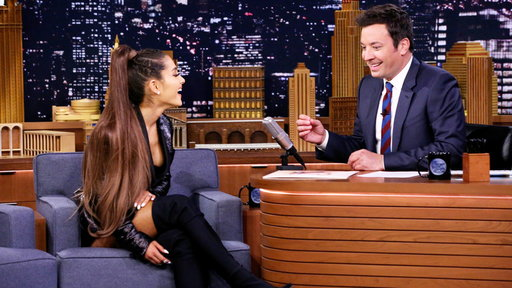 The Tonight Show Starring Jimmy Fallon S05E176 Ariana Grande, Nick Kroll, Aerosmith