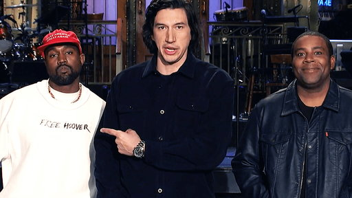 S44E1 Adam Driver and Kenan Thompson Think Kanye West Is Up to Something