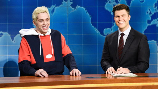 S44E1 Weekend Update: Pete Davidson on His Engagement to Ariana Grande