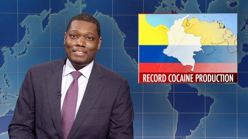 Weekend Update: Record Cocaine Production