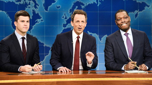 S44E3 Weekend Update: Really!?! with Seth Meyers, Colin Jost and Michael Che