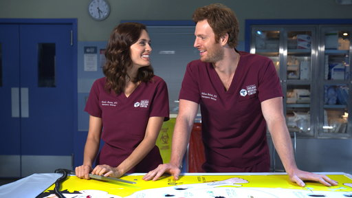 S4E0 Nick Gehlfuss and Torrey DeVitto Play a Trivia Surgery Game