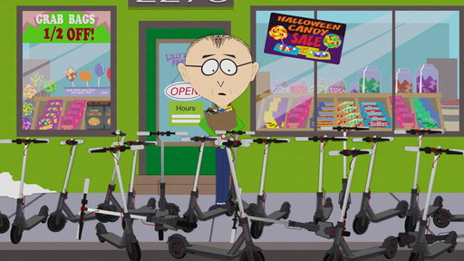 S22E5 Don't Want to Scoot