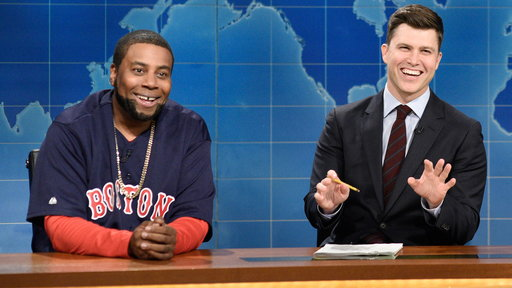 S44E4 Weekend Update: David Ortiz on Red Sox's World Series Win