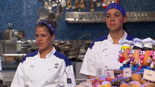 S18E6 The Cooks Meet Mr. Potato Head For The Next Challenge