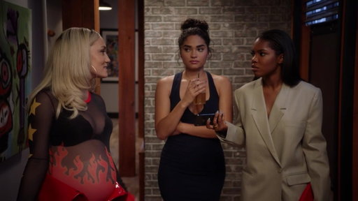 S3E6 Simone Tells the Girls Jackson Is Going to Be in the Movie