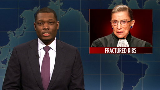 S44E5 Weekend Update: Justice Ruth Bader Ginsburg Hospitalized