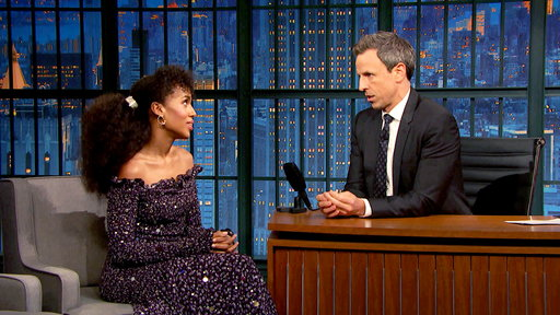 Late Night with Seth Meyers S06E21 Kerry Washington, David Sedaris, Mamoudou Athie