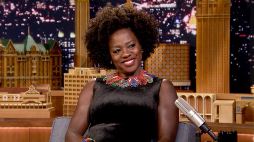 The Tonight Show Starring Jimmy Fallon S06E31 Viola Davis, Wyatt Russell, Muse
