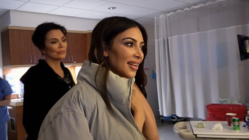 S15E13 Kim K. Refrains From Going Off on Tristan in the Delivery Room