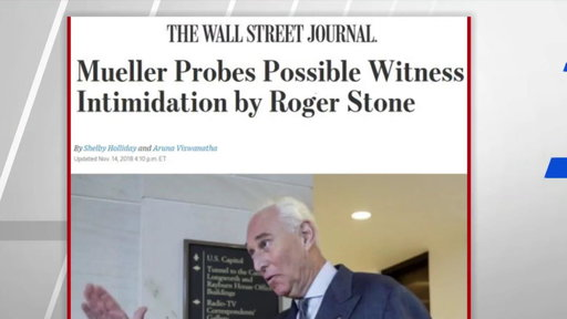S0E0 WSJ: Mueller probes possible witness intimidation by Stone