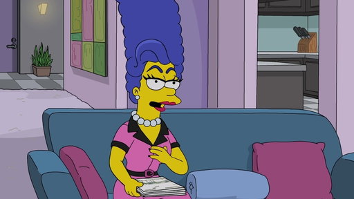 S30E7 Everyone Thinks Marge Is A Drag Queen