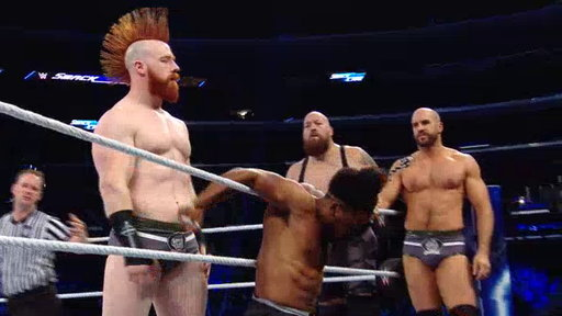 S20E1005 The New Day vs. The Bar and The Big Show