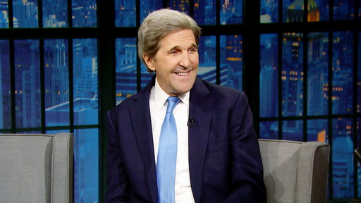 Late Night with Seth Meyers S06E26 John Kerry, Rachel Dratch, Daniel Simonsen