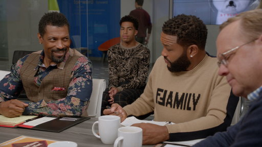Black-ish S05E06 Stand Up, Fall Down