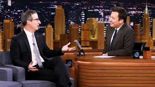 The Tonight Show Starring Jimmy Fallon S06E40 John Oliver, Rachel Brosnahan, Mike Will Made It, Swae Lee and Young Thug