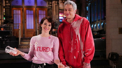 S44E7 Claire Foy Takes on Pete Davidson in an SNL Tradition