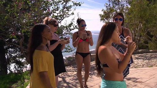 "S18E8 The Girls Let Loose At The Villa from ""One Hell of a Party"""