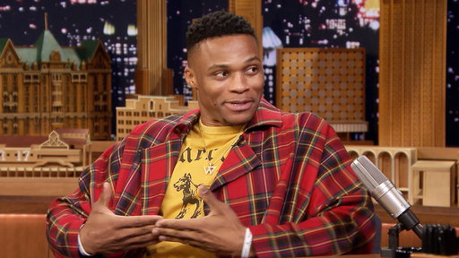 S6E45 Russell Westbrook Explains the Meaning of His Rock-a-Baby Celebration Move