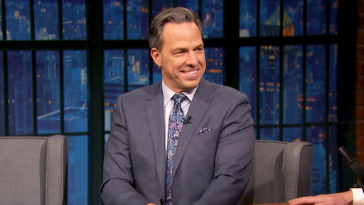 Late Night with Seth Meyers S06E30 Jake Tapper, Bill Burr