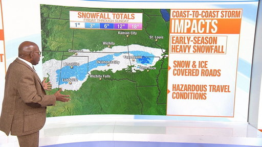 S0E0 Winter storm to bring snow and ice across country