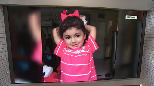S0E0 Toddler needs extremely rare blood to fight cancer