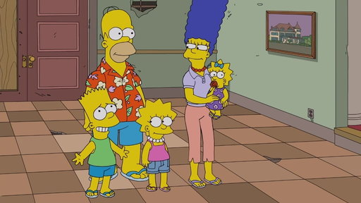 Season 30, Episode #10 The Simpsons Visit The Hall Of Vice Presidents Screenshot