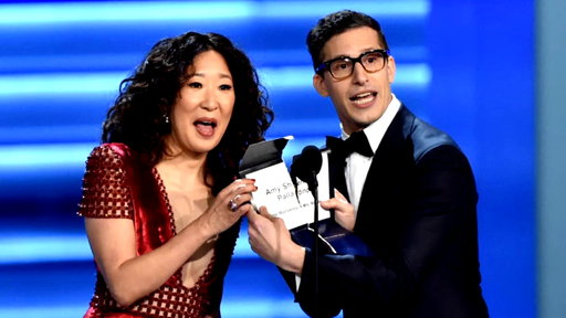 Dish Nation S07E69 Andy Samberg and Sandra Oh to Host the Golden Globe Awards and We Discuss the Biggest Nominations!