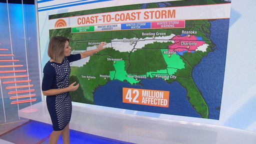S0E0 Forecast: Winter storm to sweep across the nation