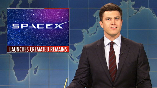S44E8 Weekend Update: SpaceX Launches Rocket with Cremated Remains