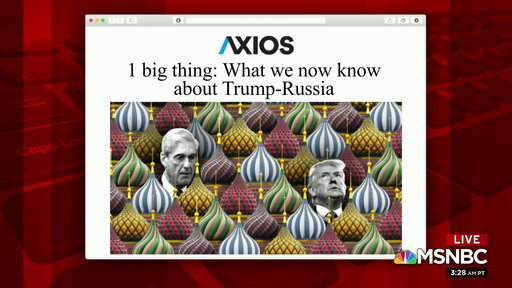 S0E0 Axios asks: How involved was Trump with Russia?