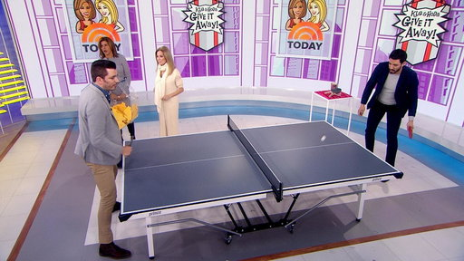 S0E0 Give It Away: 5 TODAY viewers receive table tennis sets from Dick's Sporting Goods