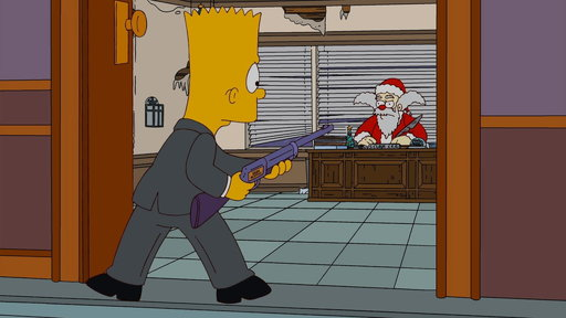 S22E08 Going After Santa