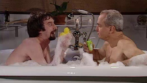 Lorne & Tom in a Tub: Rubber Duck