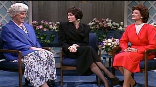 S14E01 The Pat Stevens Show: Barbara Bush and Kitty Dukakis