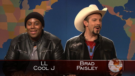 Weekend Update: LL Cool J and Brad Paisley