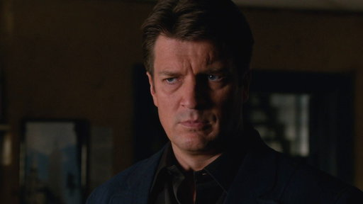 S06E03 Beckett Gets Castle to Continue a Case