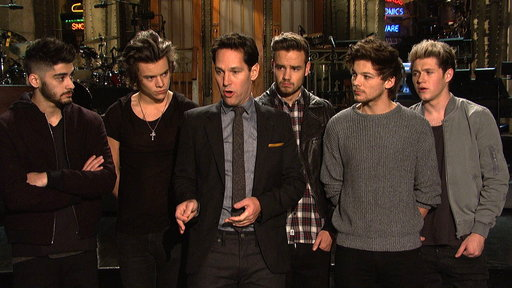 S39E8 SNL Promo: Paul Rudd and One Direction