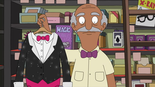 S04E10 Tina Gets Ready for Her Big Magician's Assistant Debut