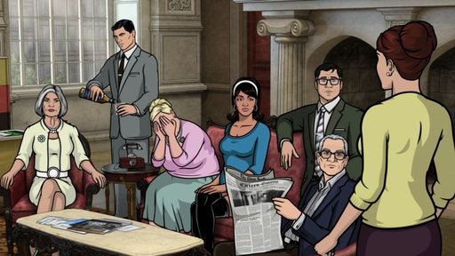 Season 5, Episode #3 Next On Archer Vice: a Debt of Honor Screenshot