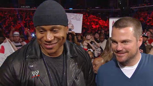 S21E1085 NCIS LA Stars LL Cool J and Chris O'Donnell Join RAW