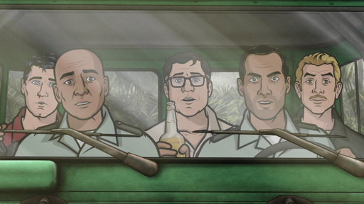 S05E08 Next On Archer Vice: The Rules of Extraction
