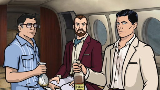 Season 5, Episode #10 Next On Archer Vice: Palace Intrigue, Part 1 Screenshot