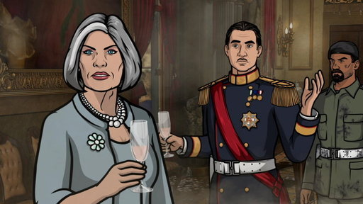 Season 5, Episode #11 Next On Archer Vice: Palace Intrigue, Part II Screenshot